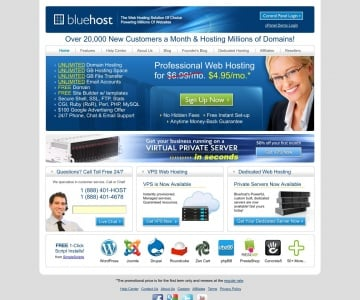 Only $3.95/Month For Hosting & Free Domain Name