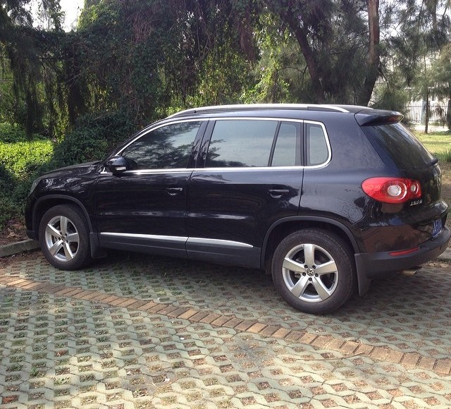 My car  A 40000 VW Tiguan 18TSI Too bad?