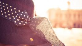 Girl Hat in Sunlights