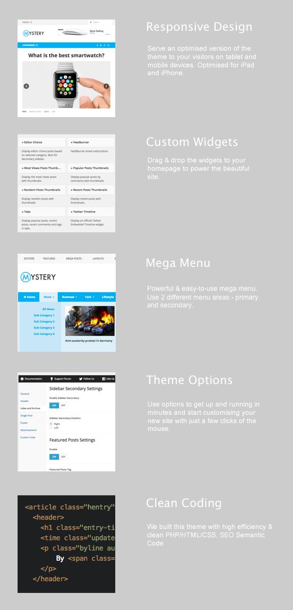 Mystery WordPress Theme
