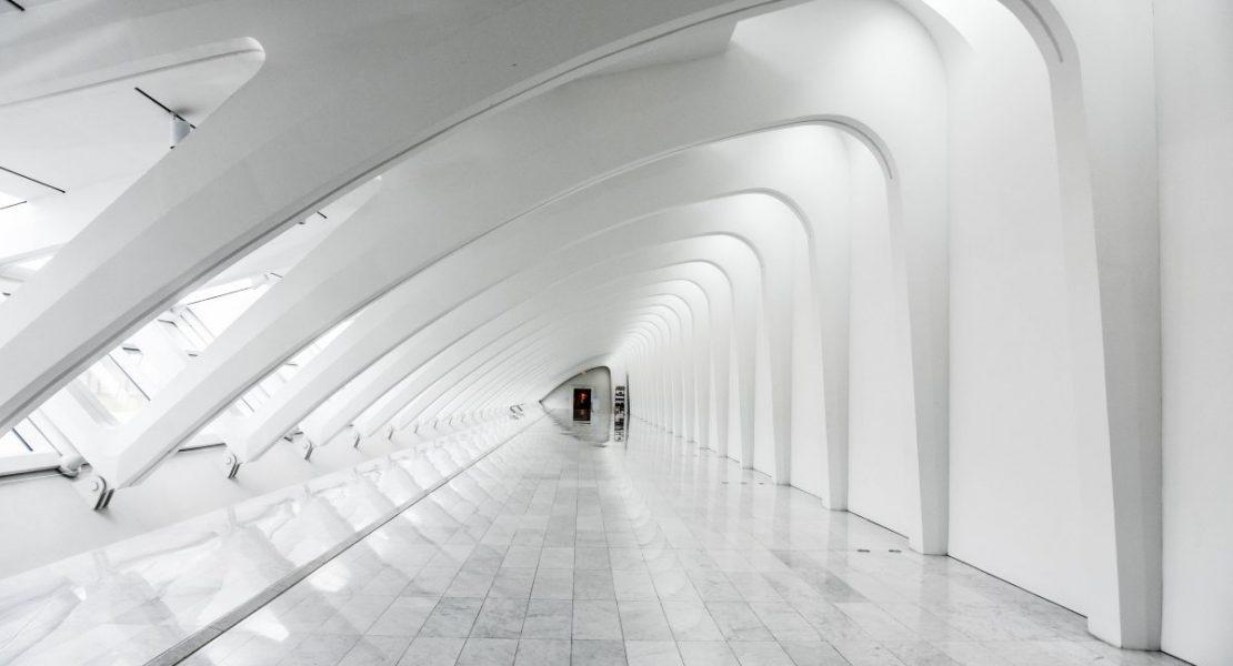 A Long White Corridor