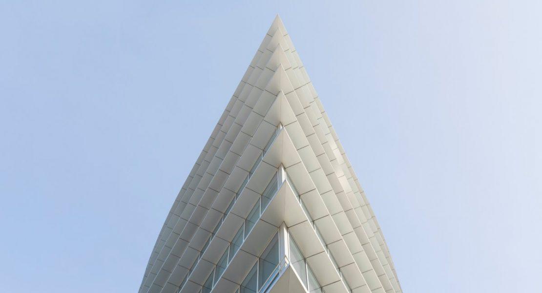 A Modern White Building