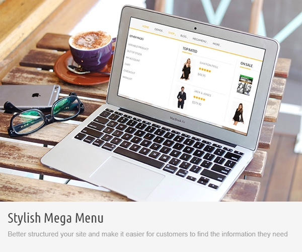 Saha WordPress Theme