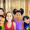 Diversity Children Friendship Innocence Smiling