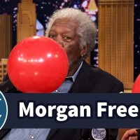Morgan Freeman Chats with Jimmy While