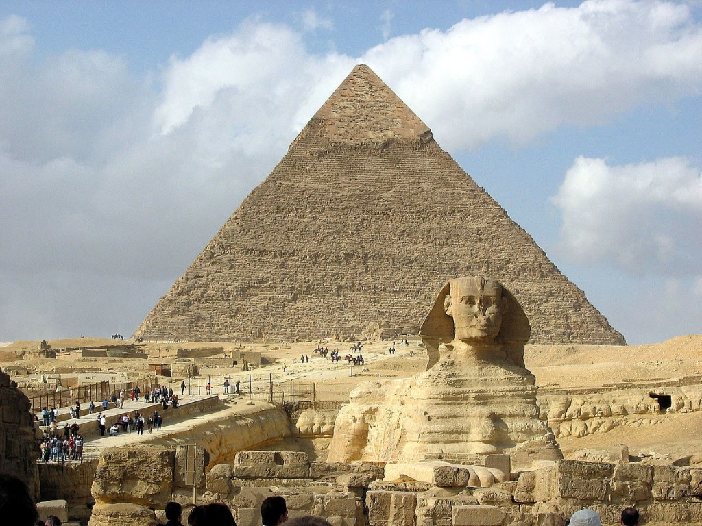 """Egypt.Giza.Sphinx.02"" by Hamish2k - Wikipedia"