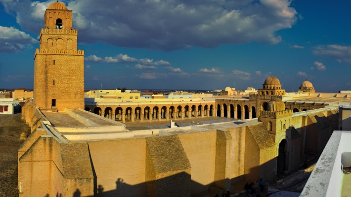 The Great Mosque of Kairouan (full width post)