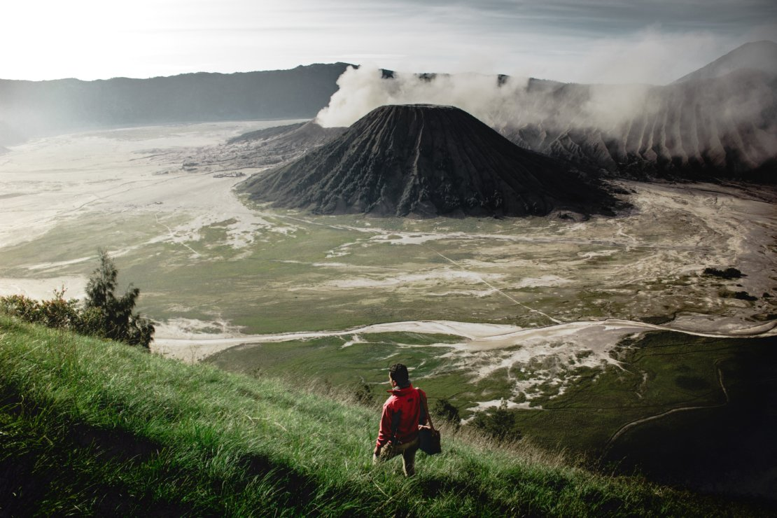 The Beauty of Bromo Mountain