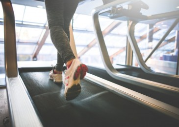 Cardio Running on a Treadmill