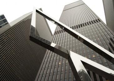 New York City Gray Skycrapers