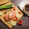 Preparing Grilled Salmon Steak