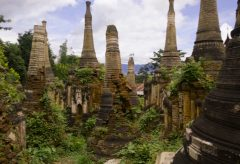Explore Crumbling Towers Hidden in Myanmar's Jungle